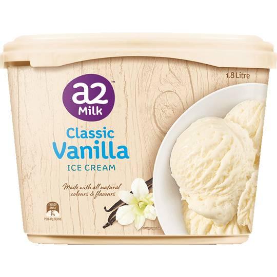 A2 Ice Cream Classic Vanilla
