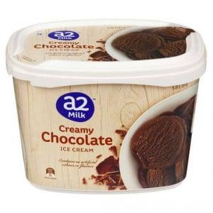 A2 Ice Cream Creamy Chocolate