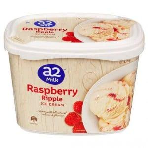 A2 Ice Cream Raspberry Ripple