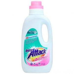 Biozet Attack Front & Top Loader Laundry Liquid Plus Softener