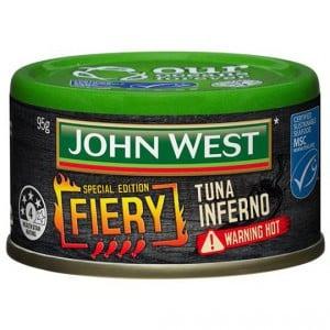 John West Fiery Inferno Tuna