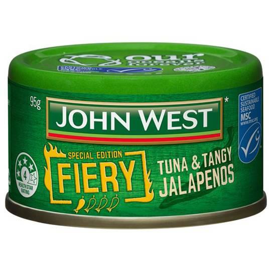 John West Fiery Jalapeno Tuna