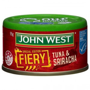 John West Fiery Sriracha Tuna