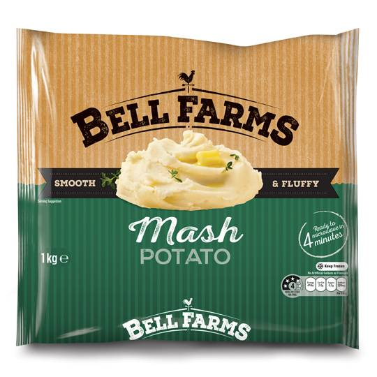 Bell Farms Frozen Mash Potato