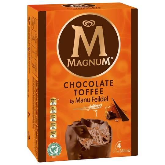 Streets Magnum Ice Cream Chocolate Toffee Manu Feildel