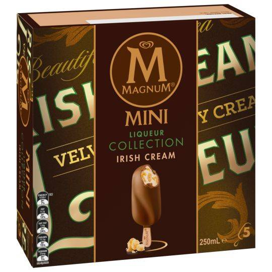 Streets Magnum Mini Ice Cream Liqueur Collection Irish Cream