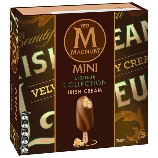 Streets Magnum Mini Ice Cream Liqueur Collection Irish Cream