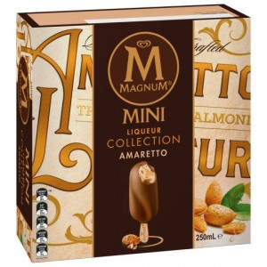 Streets Magnum Mini Ice Cream Liqueur Collection Amaretto