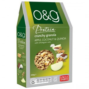 Uncle Tobys O&g Granola Apple Coconut & Quinoa