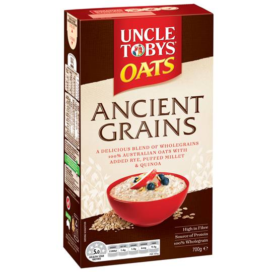 Uncle Tobys Ancient Grains Oats