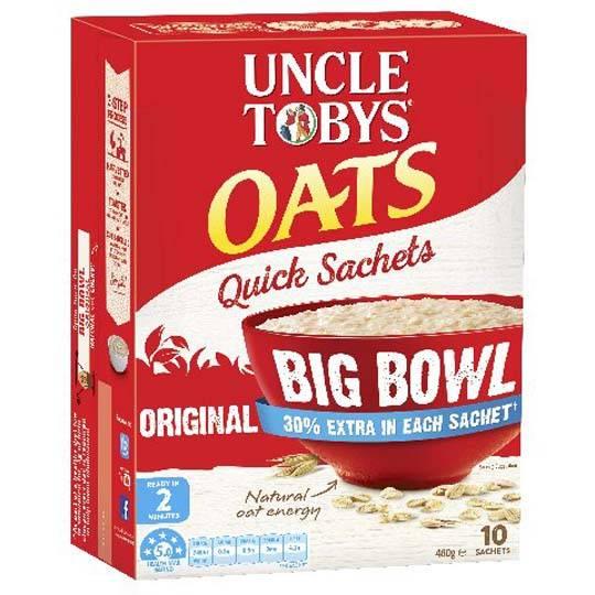 Uncle Toby's Big Bowl Original