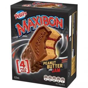 Maxibon Ice Cream Peanut Butter & Jam