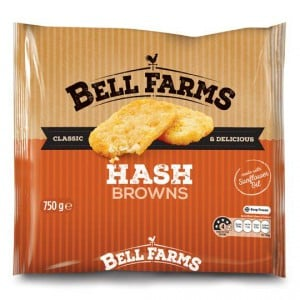 Bell Farms Frozen Hash Browns