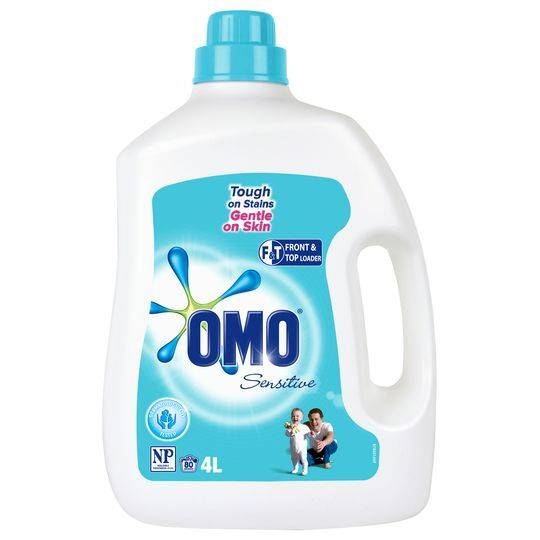 Omo Sensitive Laundry Liquid Front & Top Loader
