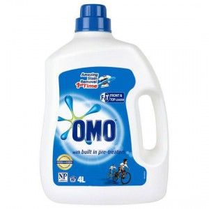 Omo Active Clean Laundry Liquid Detergent Front & Top Loader