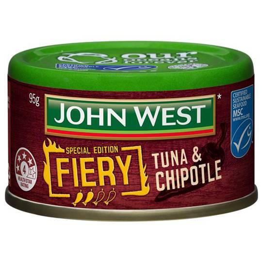 mom132206 reviewed John West Fiery Chipotle Tuna