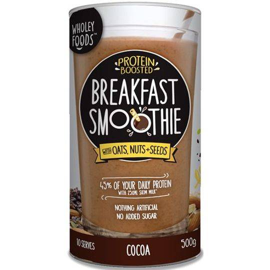 Wholey Foods Breakfast Smoothie Cocoa