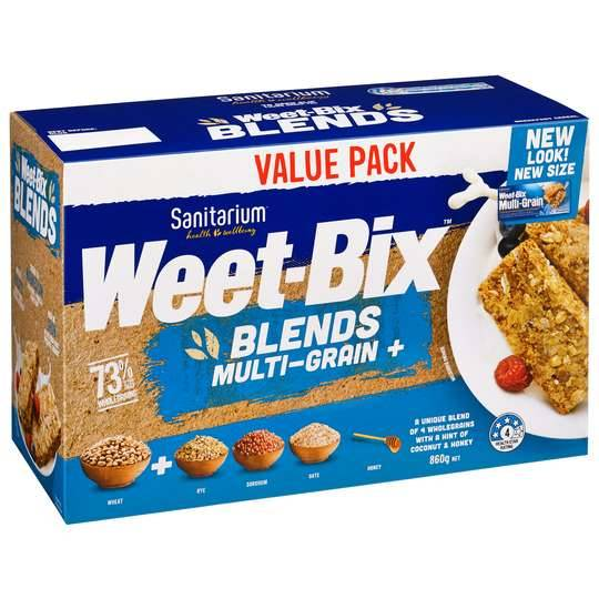 Sanitarium Weet-bix Blends Multi-grain +