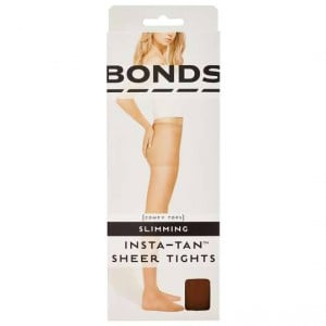 Bonds Instatan Sheer Stockings Slim Tight Light Brown Medium