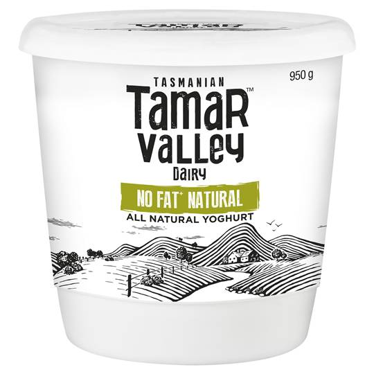 Tamar Valley Natural No Fat Yoghurt