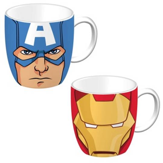Hot Topic Mug Captain America And Iron Man