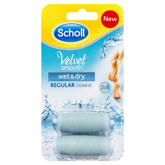 Scholl Velvet Wet & Dry Electric Foot File Refill Head