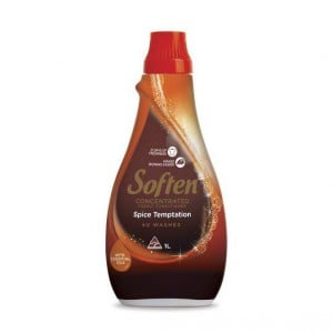 Soften Concentrated Fabric Softener Spice Temptation