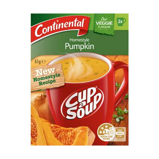 Continental Cup A Soup Homestyle Pumpkin
