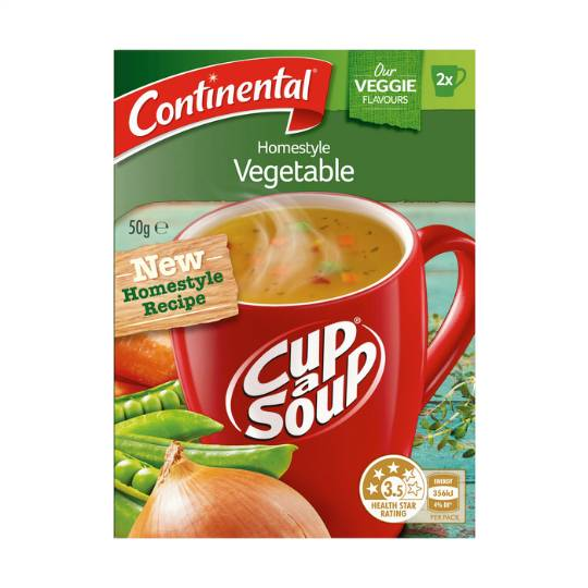 Continental Cup A Soup Homestyle Vegetable