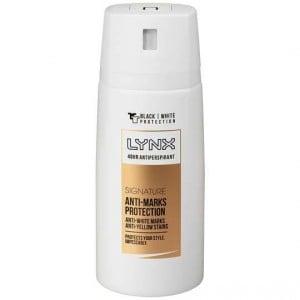 Lynx Antiperspirant Deodorant Signature Anti White Mark