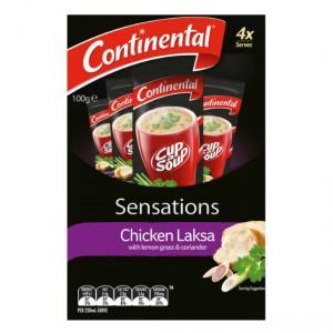 Continental Sensations Chicken Laksa Soup With Lemon Grass & Coriander