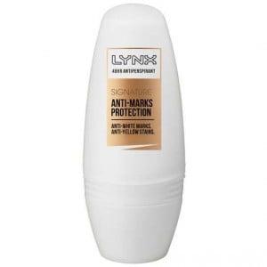 Lynx Roll On Deodorant Signature Anti White Mark