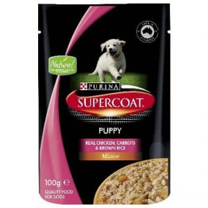 Supercoat Puppy Chicken Mince Pouch
