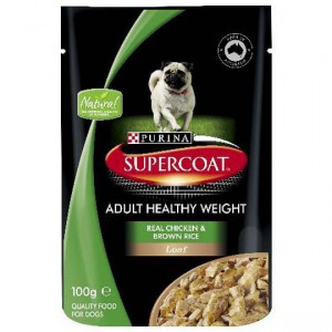Supercoat Healthy Weight Chicken Pouch