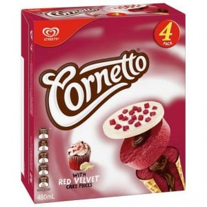 Streets Cornetto Ice Cream Red Velvet