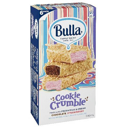 Bulla Ice Cream Cookie Crumble