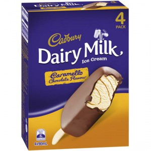 Cadbury Dairy Milk Ice Cream Caramello