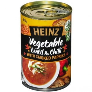 Heinz Soup Vegetable Lentil Paprika