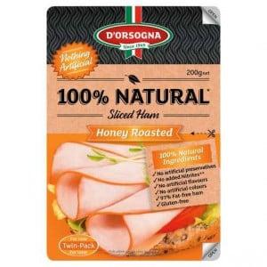 D'orsogna 100% Natural Honey Roasted Leg Ham