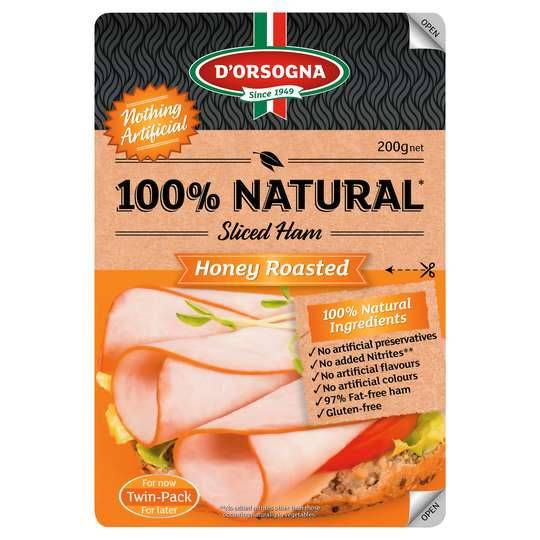 D'orsogna 100% Natural Honey Roasted Leg Ham