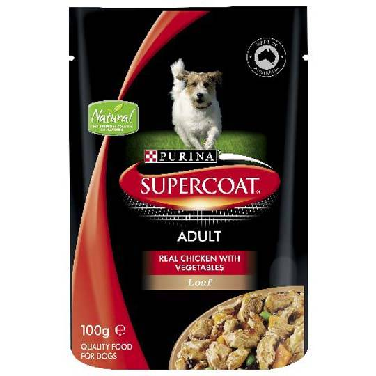 Supercoat Chicken Loaf Pouch