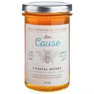 Beechworth Bee Cause Coastal Honey Jar