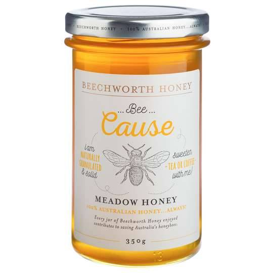 Beechworth Bee Cause Meadow Honey Jar