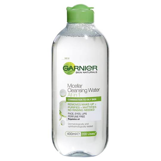 Garnier Micellar All In 1 Cleanser Combination To Oily