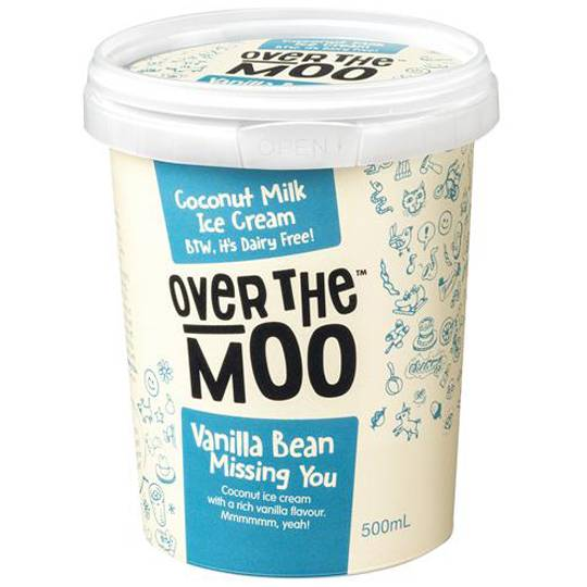 Over The Moo Dairy Free Ice Cream Vanilla Bean Missing You