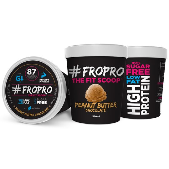 Fro Pro Ice Cream Peanut Butter & Chocolate