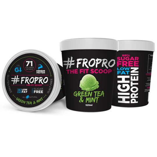 Fro Pro Ice Cream Green Tea & Mint