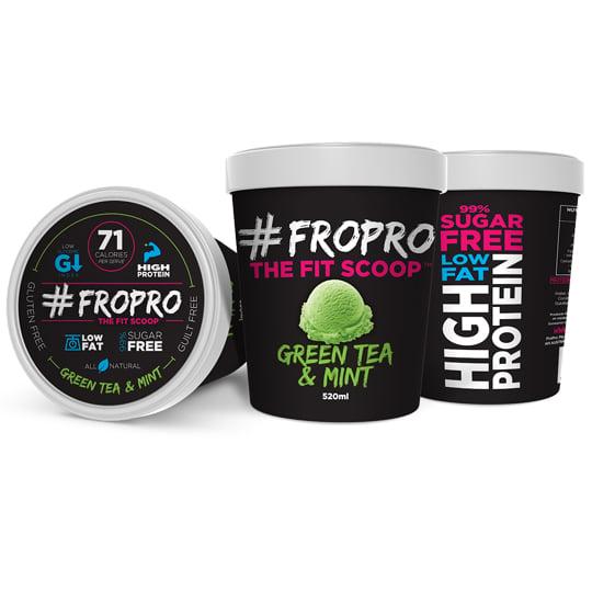 Fro Pro Ice Cream Green Tea & Mint