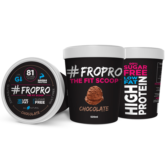 Fro Pro Ice Cream Chocolate