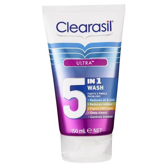 Clearasil Ultra 5 In 1 Wash